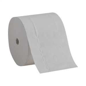 Compact Coreless 2 Ply White Bath Tissue - 4 in. x 4.5 in.