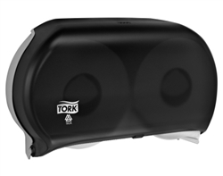 Tork Bath Tissue Jumbo Roll Twin Dispenser - 19.3 in. x 11.8 in. x 5.5 in.