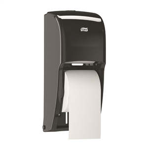 Tork Elevation High-Capacity Bath Tissue Roll Dispenser Plastic Black