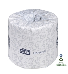 Tork Universal Bath Tissue Roll 2 Ply White - 4 in. x 131.25 Ft.
