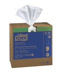 Tork Cleaning Cloth White - 8.5 in. x 16.12 in.