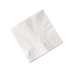 Advanced Bev Napkin 2 Ply One Fourth White - 9.25 in. x 9.25 in.