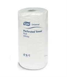 Tork Universal Roll Towel 2 Ply Household White - 9 in. x 11 in.