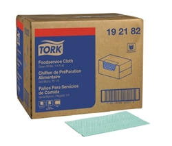 Tork Foodservice Cloth  Green - 11.5 in. x 21 in.