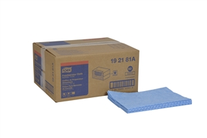 Tork Universal Foodservice Cloth 1 Ply Blue - 13 in. x 21 in.