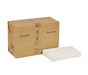 Tork Advanced Xpress Dispenser Napkin One Fourth Fold White - 8.5 in. x 13 in.