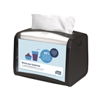 Tork Xpressnap Signature Tabletop Napkin Dispenser Black - 7.9 in. x 5.9 in. x 6.1 in.