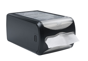Tork Xpressnap Signature Counter Napkin Dispenser Licorice - 7.5 in. x 5.7 in. x 12.1 in.