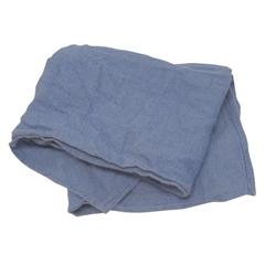Wiping Pals Blue Huck Towels - 10 Lb.