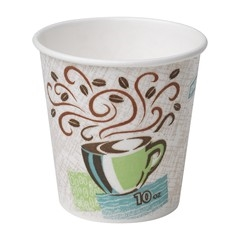 PerfecTouch Coffee Haze Insulated Paper Hot Cup - 10 Oz.