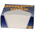 Deli Patty Paper Light Weight Dry Wax Dispenser Box - 4.75 in. x 5 in.