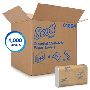 Scott Multifold Towel White - 9.25 in. x 9.4 in.
