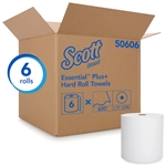 Kleenex White Roll Towels 1ply - 8 in. x 600 ft.