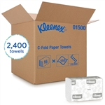 Kleenex C-Fold Towel 1-Ply White - 10.13 in. x 13.17 in.