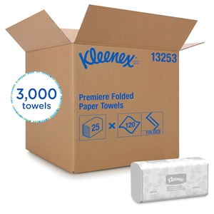 Kleenex Scottfold White 1 Ply Towel - 8.1 in. x 12.4 in.