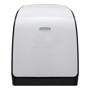 Electronic Hard Roll Towel Dispenser White
