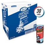 Scott Shop Towel Roll Blue - 11 in. x 10.4 in.