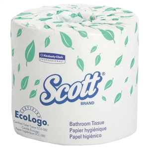 Scott Bathroom Tissue Roll 2-Ply Standard - 4.5 in. x 4 in.