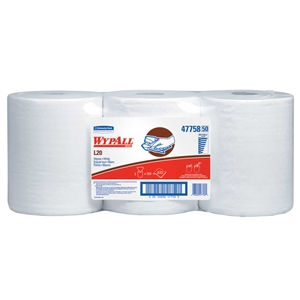 White Kimtowel 2-Ply Center Flow Wiper - 9.8 in. x 13.4 in.