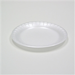 Satinware Dinner White Plate - 9 in.
