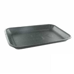 Black Foam Tray - 8.20 in. x 5.20 in. x 0.70 in.