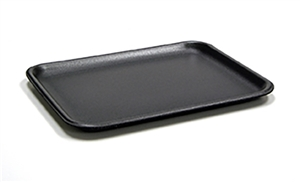 Black Foam Tray - 9.13 in. x 7.13 in. x 0.61 in.