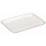 White 2 Foam Tray - 8.20 in. x 5.20 in. x 0.70 in.