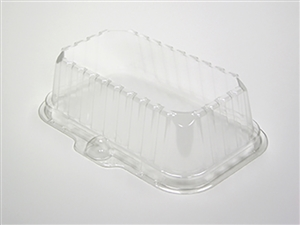Clear Deep Dome For 17S Tray - 8.3 in. x 4.8 in. x 2.1 in.