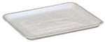 White 10S Foam Tray - 10.75 in. x 5.75 in. x 0.65 in.