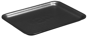 Black 9L Foam Tray - 9.87 in. x 11.87 in. x 1 in.