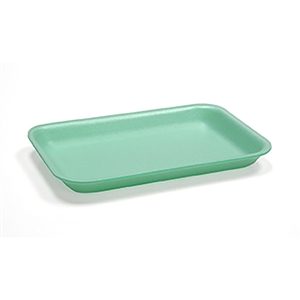 Foam Tray Green - 7.13 in. x 9.25 in. x 1.25 in.
