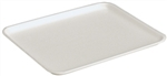 Foam Tray White - 10.75 in. x 5.5 in. x 1.25 in.