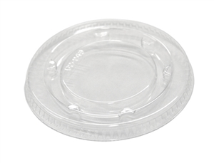 Clear Fat Resistant Flat Lid