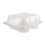 Bar-Lock Muffin Large Hinged Container