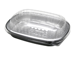 Aluminum Classic Carry Out Tray and Dome - 22 Oz.