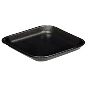 Black Foam Tray - 5.20 in. x 5.20 in. x 0.61 in.