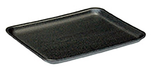 Foam Tray Black - 10.5 in. x 8.25 in. x 1.2 in.