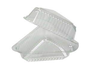 Showpie Clear Hinged Pie Wedge - 9 in.