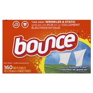 Bounce Dryer Sheets Single Scented
