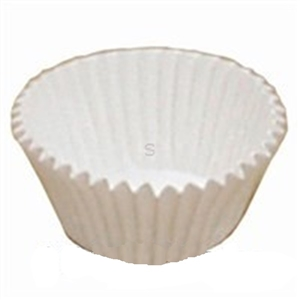 White Paper Fluted Baking Cup - 4.75 in.