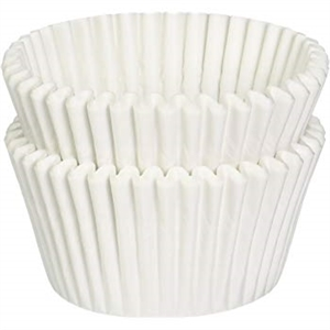 White Baking Cup - 3 in.