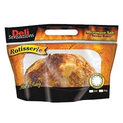 Hot N Handy Fried Chicken Deli Fresh Pouch - 14 in. x 8 in. x 6 in.