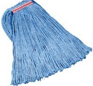 Duro Pro Mop Head Blend Cut End Blue 1 in. Headband