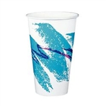 Jazz Poly Coated Paper Cold Cup - 16 oz.