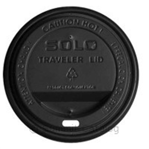 Traveler Lid Plas Fits Black