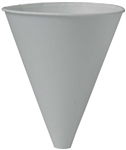 White Paper Funnel Cup - 10 oz.