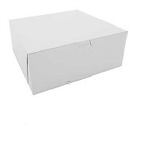 White Bakery Boxes - 10 in. x 10 in. x 4 in.