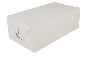 Lunch Carry-Out Box Fast Top White - 8.88 in. x 4.88 in. x 3.06 in.