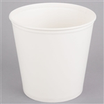 Plain Paper Waxed Bucket - 165 oz.