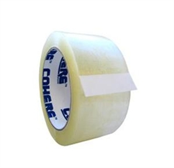 Cohere Super Economy Carton 1.6 Mil Sealing Tape - 2 in. x 110 yd